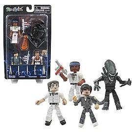 Aliens Minimates 35Th Anniversary Box Set Figurines and Sets