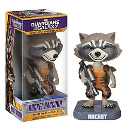 Guardians of the Galaxy Rocket Raccoon Bobble Head Figurines and Sets
