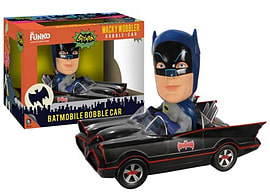 Batman Batmobile Bobble-Car Figurines and Sets