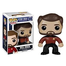 Star Trek- Will Riker POP Vinyl Figure (189) Figurines and Sets