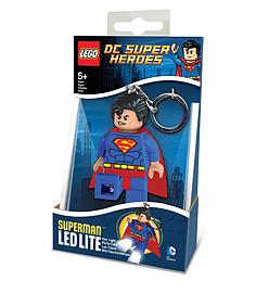 Lego DC Super Heroes Superman LED Keychain Lite Figurines and Sets