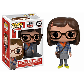 The Big Bang Theory Amy Farrah Fowler (42) Pop Vinyl Figure Figurines and Sets