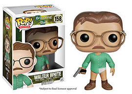 Breaking Bad Walter White (158) POP Vinyl Figure Figurines and Sets