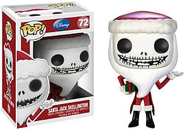 Nightmare Before Christmas Santa Jack Skellington POP Vinyl Figure (72) Figurines and Sets