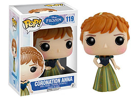 Frozen- Coronation Anna POP Vinyl Figure (#119) Figurines and Sets