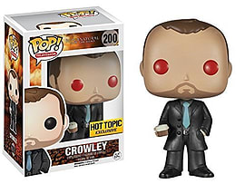 Supernatural- Crowley With Red Eyes Pop Vinyl Figure (#200) Figurines and Sets