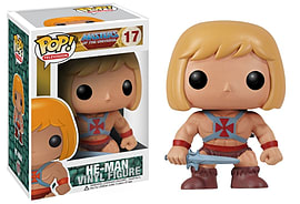 Masters Of The Universe- He-Man POP Vinyl Figure (17) Figurines and Sets