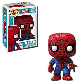 Marvel Universe Spider-Man (03) Pop Vinyl Bobble-Head Figure Figurines and Sets