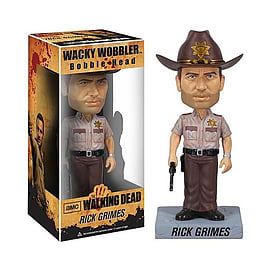 The Walking Dead Wacky Wobbler Bobble Head - Rick Grimes Figurines and Sets