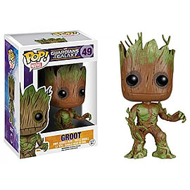 Guardians Of The Galaxy- Groot (Extra Mossy) Pop Vinyl Figure (49) Figurines and Sets