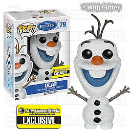 Frozen Olaf with Glitter POP Vinyl Figure Exclusive (#79) Figurines and Sets