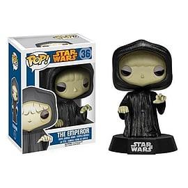 Star Wars Emperor Palpatine Pop Vinyl Bobble Head Figurines and Sets