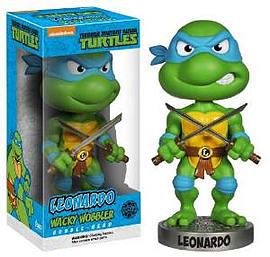 Teenage Mutant Ninja Turtles- Leonardo Bobblehead Figurines and Sets