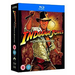 Indiana Jones The Complete Adventures Quadrilogy Blu-ray