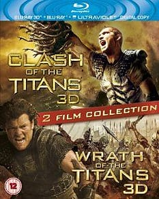 Clash of the Titans 3D / Wrath of the Titans 3D Blu-ray