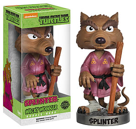 Teenage Mutant Ninja Turtles- Splinter Bobblehead Figurines and Sets