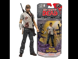 The Walking Dead Comic series 3 Rick Grimes Figure Figurines and Sets