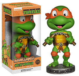 Teenage Mutant Ninja Turtles- Michelangelo Bobblehead Figurines and Sets