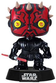 Star Wars- Darth Maul Pop Vinyl Figure Figurines and Sets