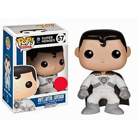 DC Comics Super Heroes - White Lantern: Superman POP Vinyl Figure (57) Figurines and Sets