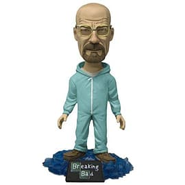 Breaking Bad Walter White Bobblehead - Glow in the Dark Green Hazmat Suit Figurines and Sets