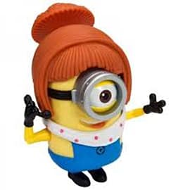 Despicable Me- Fireman/Lucy (Build-A-Minion) Action Figure Figurines and Sets