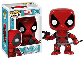 Marvel Universe Deadpool Red Suit POP Vinyl Figure Figurines and Sets