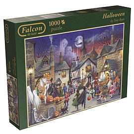Falcon de Luxe Halloween Jigsaw Puzzle 1000 Pieces Traditional Games