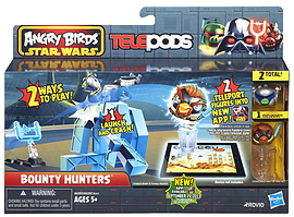 Star Wars Angry Birds Telepods Bounty Hunters Figurines and Sets