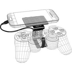 Speedlink Trace Smartphone Game Controller Clip - Black PS3