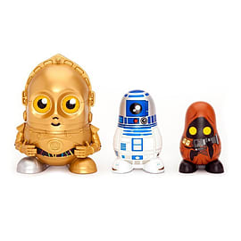 Star Wars Chubby C3PO/ R2D2/ Jawa Droids Collectable Russian Figurines Set Figurines and Sets