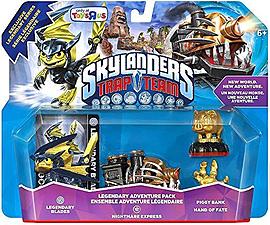 Skylanders Trap Team Nightmare Express Adventure Pack LEGENDARY Skylanders