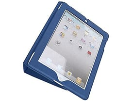4world Case With Leg Stand For Ipad 2, Slim, Blue Tablet