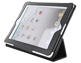 4world Case With Folded Stand For Ipad 2, Black Tablet