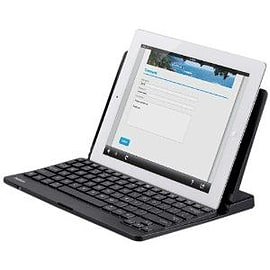 Belkin Bluetooth Mobile Keyboard Ios In Black (also Compatible With The New Ipad 3rd Generation) Tablet