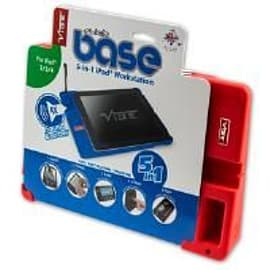 Vibe Slick-Base Tablet Workstation Case for iPads (Red) Tablet