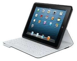 Fabricskin Keyboard Folio For iPad 2/3/4 Carbon Black Tablet