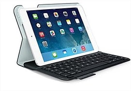 Logitech Ultrathin Keyboard Folio For Ipad Mini - Black Italian Tablet