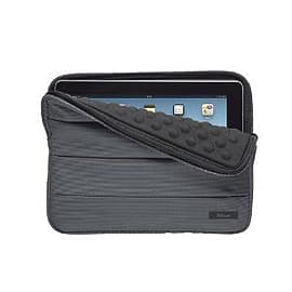 Trust Nylon Anti-Shock Bubble Sleeve for 10 inch Tablets - Grey Tablet