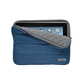 Trust Nylon Anti-Shock Bubble Sleeve for 10 inch Tablets - Blue Tablet