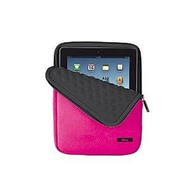 Trust Anti-Shock bubble sleeve for 10 inch Tablets - Pink Tablet