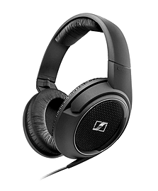 Sennheiser HD 429 Ergonomic Closed- Back Stereo Over- Ear Headphones with Kindle Compatibility Audio