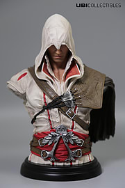 Assassin's Creed Legacy Collection: Ezio Auditore Bust Scaled Models