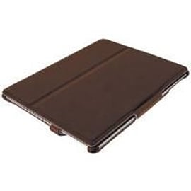 Trust Hardcover Skin and Folio Stand (Brown) for iPad Tablet