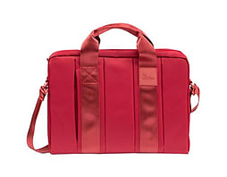Rivacase 8830 Nylon Bag With Adjustable Strap For 15.6 Inch Laptops, Red PC