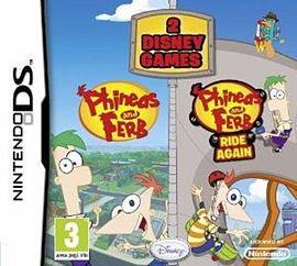 Phineas And Ferb 2 Game Pack (Phineas and Ferb and Phineas and Ferb: Rides Again) NDS