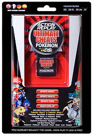 Action Replay Ultimate Cheats for Pokemon - DSi version NDS