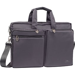 Rivacase 8530 Polyester Laptop Bag With Tablet Compartment For 16 Inch Notebooks, Black PC