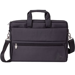 Rivacase 8630 Polyester Laptop Bag With Tablet Compartment For 15.6 Inch Notebooks, Black PC