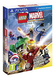 LEGO Marvel Super Heroes - GIFT EDITION PS Vita Cover Art